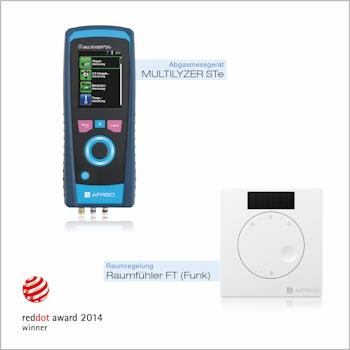 Red Dot Award: Product Design 2014 für Afriso Produkte