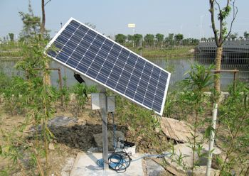 NOV Mono Solar Technology Helps Cut Water and Power Consumption In China