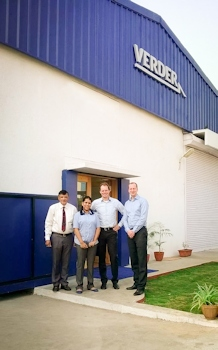 Verder Opens New Office in India