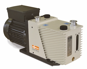 New Busch Rotary Vane Vacuum Pumps for Medium Vacuum Applications
