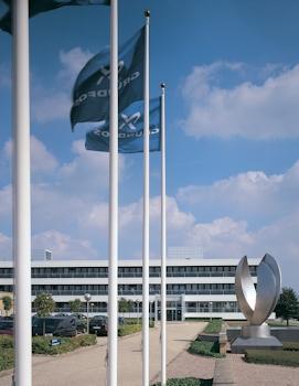 Im Jahr 2013 verzeichnete die Grundfos Gruppe ein Umsatzwachstum von 2,9 Prozent auf insgesamt 3,1 Mrd. € (23,3 Mrd. DKK)