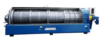 Die neue C-Presse von Andritz: effiziente Schlammentwässerung mit hoher Leistung und niedrigen Betriebskosten