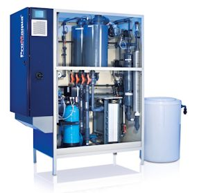 Prominent präsentiert Elektrolyseanlagen zur wirtschaftliche Trinkwasserdesinfektion