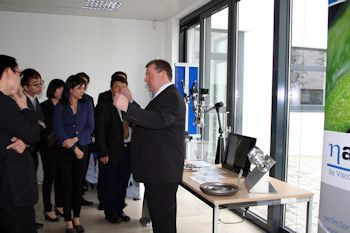 Business Delegation from Singapore Visiting ViscoTec