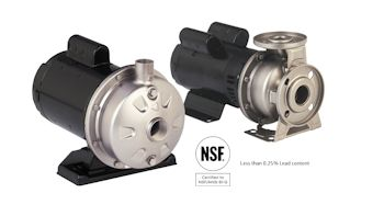 Wilo USA Introduces New Stainless Steel Closed Coupled Pumps