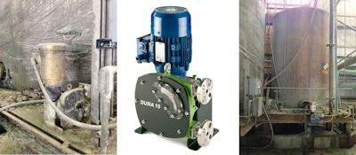 Verderflex Hose Pump Suited for Copper Sulphate Dosing