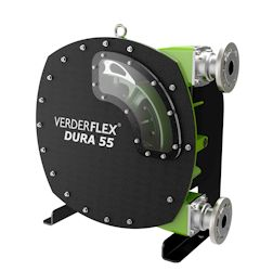 New Verderflex Dura 55 Industrial Hose Pump for Medium Flow Applications