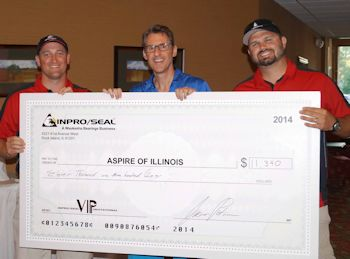 Aspire Receives $11,000 Donation from the Inpro/Seal Family