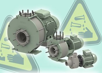 Robust Thermoplastic Pumps Resist Aggressive Chemicals