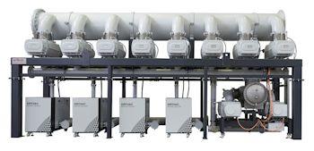 Oerlikon Leybold Vacuum liefert Vakuumsystem in Rekordgröße