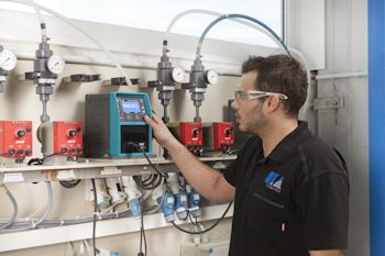 Qdos Pumps Replace Diaphragm Pumps in Electroplating Application