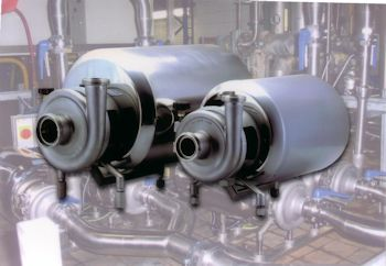 Quick-strip, Easy-clean Pumps for Hygienic Applications