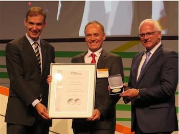 Vogelsang Exzenterschneckenpumpe mit Energy Decentral Silbermedaille ausgezeichnet