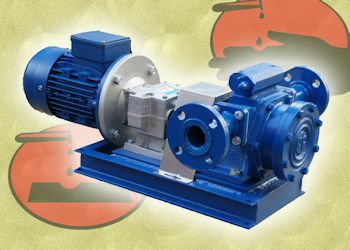 Low-Speed Hollow Rotary Disk Pumps Handle Suspended Solids