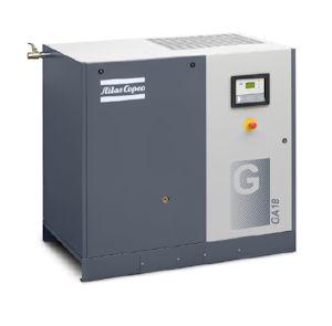 Atlas Copco's GA 15-26 kW Oil-injected Screw Compressors Get a Boost in Efficiency