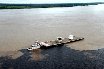 Voith Ships 320 Ton Runner to Belo Monte Hydropower Plant in Brazil