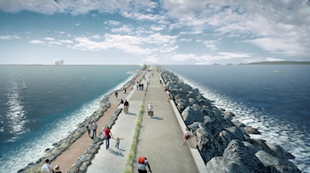 Equipment for the World's First Tidal Lagoon Hydropower Project
