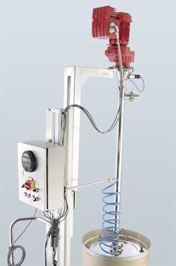 Indirect, Non-contact Volume Measurement for Flux Pumps