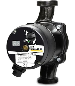Halm Presents New Electronically Controlled High Efficiency Pumps