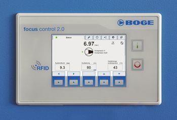 Boge launcht Kompressorsteuerung focus control 2.0