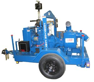 Thompson Pump Introduces 6HT Wet-Prime Trash Pump