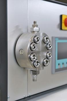 Neue Mikrodosierpumpe mit mechatronischer Steuerung von Lewa