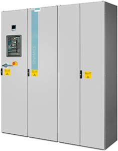 Flüssigkeitskühlung bei Siemens Umrichtern reduziert Energieverbrauch