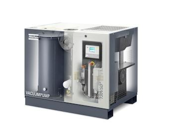 Atlas Copco stellte neue effiziente Vakuumpumpen vor