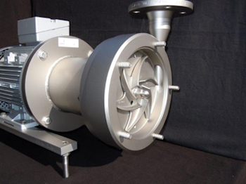 Magnetically Coupled Centrifugal Pump with Open Impeller