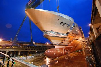 GF Wins Major Order for Largest Cruise Ships