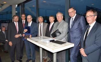 Prof. Rüdiger Detzer mit Rietschel-Plakette des BTGA geehrt