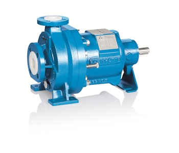 FNPM Plastic-lined Magnetic Drive Pump from Friatec