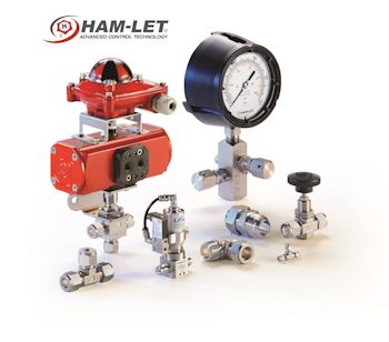 Ham-Let Introduces New Valves and Fittings