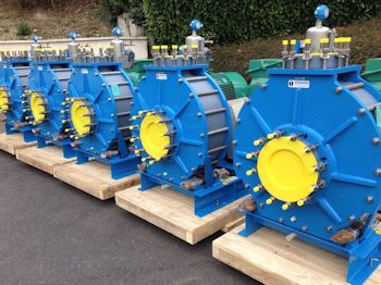 Someflu Introduces Plastic Process Pump for Phosphate Fertilizer Industry