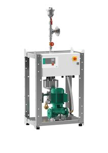Wilo Plug & Play Solution for Reliable Cleaning of Large Heating Systems