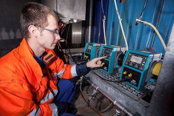 Paper Mill Replaces Diaphragm Pumps With Qdos Metering Pumps