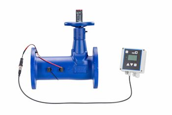 New Balancing and Measurement Valves With Ultrasound Technology