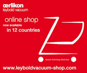 Oerlikon Leybold Vacuum's New Online Shop Improves on Speed and Services