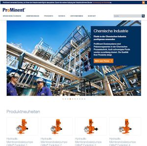 ProMinent präsentiert neuen digitalen Auftritt
