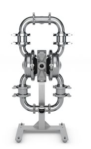 Wilden Releases Saniflo Hygienic Metal Air-operated Double-diaphragm Pump Models