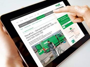 Dienstleistungen von Mall jetzt online