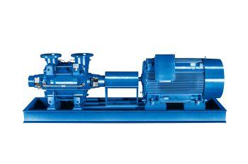 Mehrstufige Pumpen für lange Standzeiten von KSB