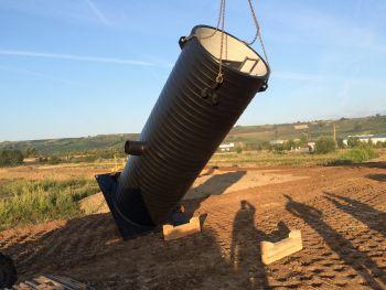 Pentair Jung Pumpen liefert Pumpenschachtsysteme von 1500 mm Durchmesser