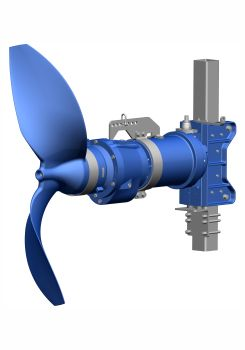 KSB stellt ein neues Tauchmotor-Rührwerk vor
