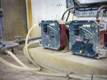 Apex Hose Pumps Replace PC Pumps for Reliable Bentonite Pumping at South African Waterworks