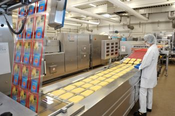 Central Vacuum Supply by Busch for Efficient Cheese Packaging