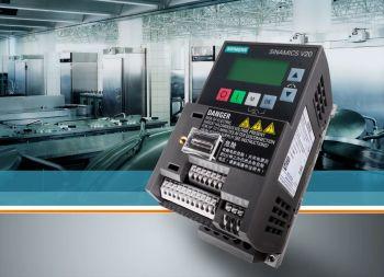 Siemens präsentiert bislang kleinsten Sinamics-Frequenzumrichter