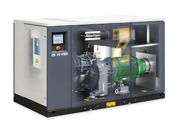 Atlas Copco: Neue Schraubengebläse und Turbokompressoren