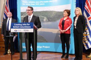 Voith Hydro erhält Auftrag für Turbinen und Generatoren des Kanadischen Kraftwerks Site C