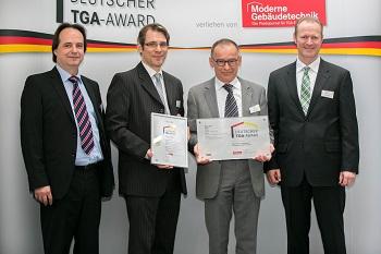 Energiekonzept der Schaufler Academy erhält Deutschen TGA-Award